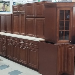 A Kitchen Cabinet Set