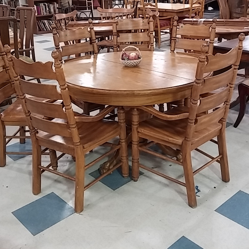 Dining Table And Chairs Morris, Where Can I Donate A Dining Room Table