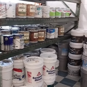 Larger Cans Paint Selection