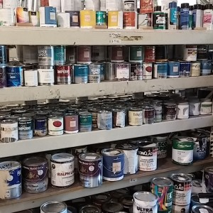 Smaller Cans Paint Selection