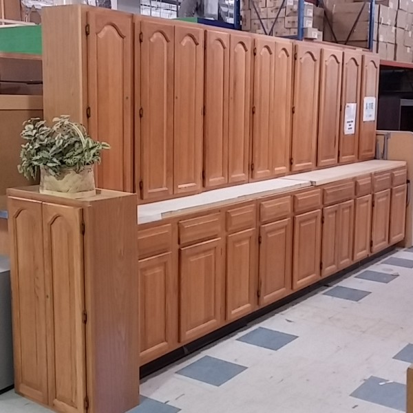 Tall Kitchen Cabinet Set