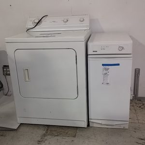 Dryer and Trash Compactor