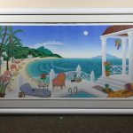 Thomas McNight Crescent Bay signed serigraph 64195