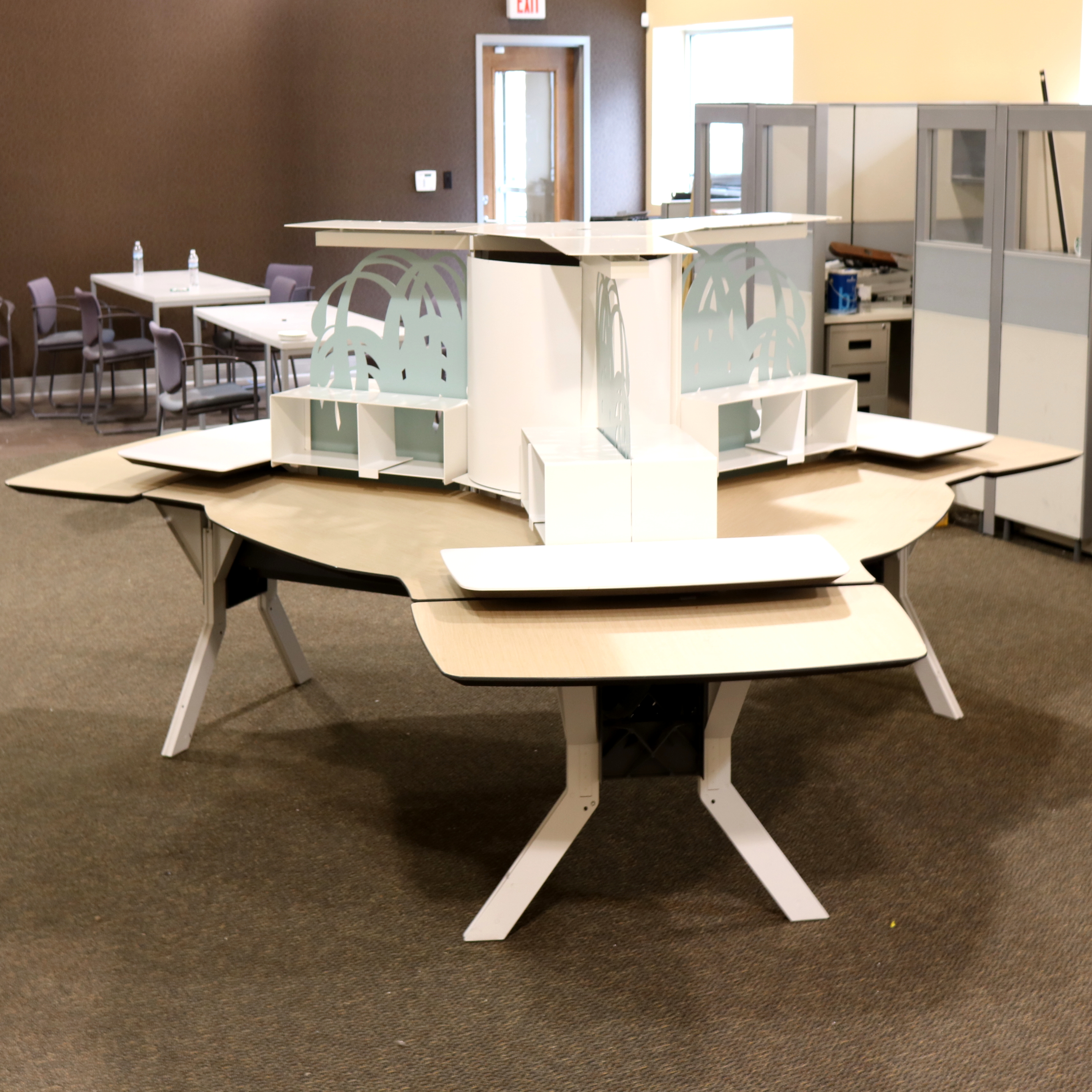 Kimball Office Furniture Person Workstation Morris Habitat For - Kimball office furniture