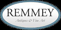 Remmey Antiques logo